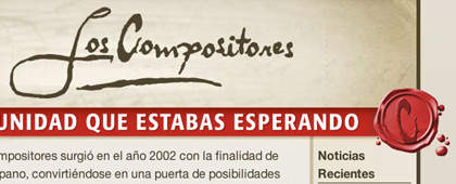 Concurso Los Compositores | Website Design and Development