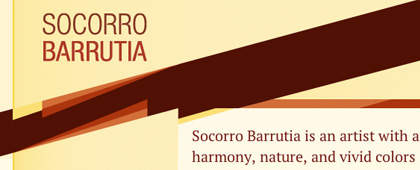 Socorro Barrutia | Web Design and Development | Print Design