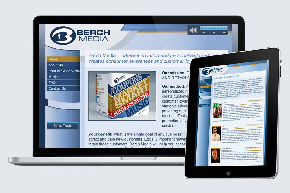 Berch Media | Home page
