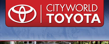 Cityworld Toyota | Packaging and UI Design