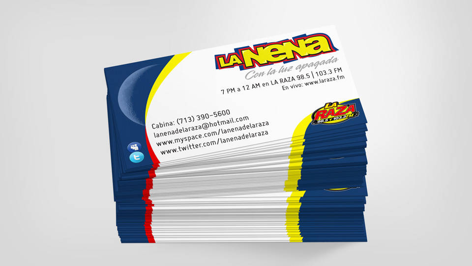La Nena | Business cards