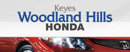 Keyes Woodland Hills Honda | Packaging and UI Design