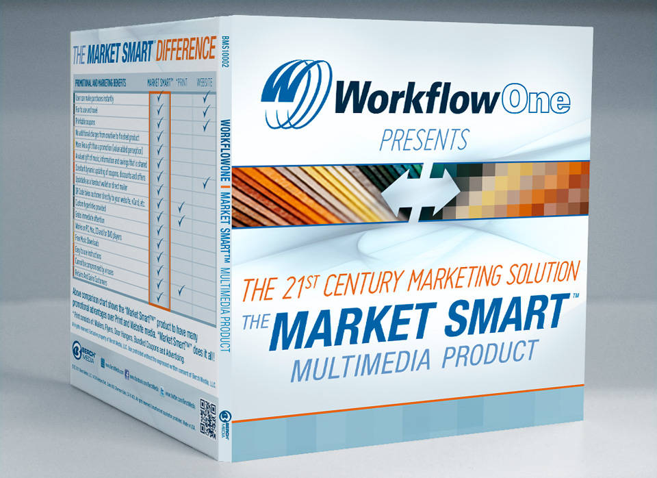 WorkflowOne | Media disc packaging front cover