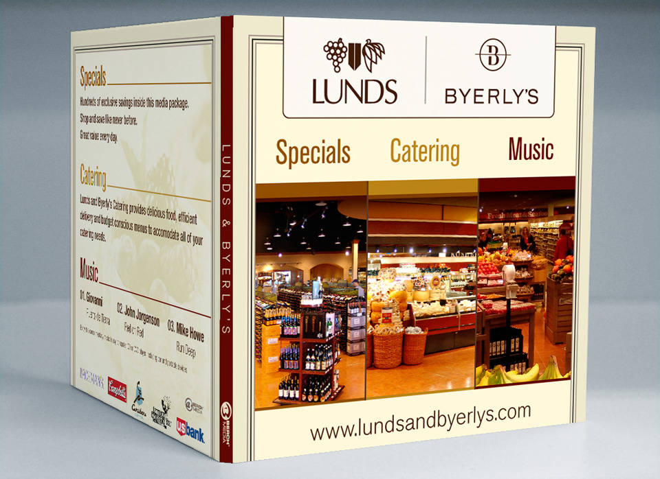 Lunds and Byerly's | Media disc packaging front cover