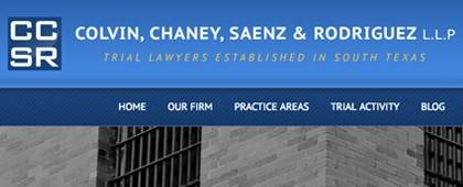 Colvin • Chaney • Saenz | Website Front-end Development