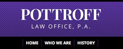 Pottroff Law Office, P.A. | Website Front-end Development